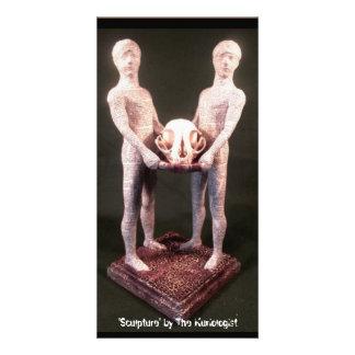 """""""Escultura"""" pelo Kuriologist Cartão Com Foto"""