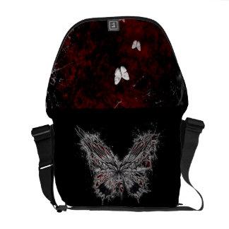Escuridão da borboleta bolsas mensageiro