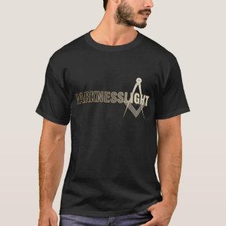 Escuridão para iluminar a camisa
