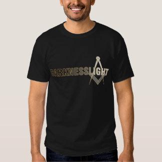 Escuridão para iluminar a camisa camiseta