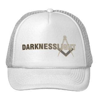 Escuridão para iluminar o chapéu do camionista boné