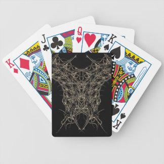 escuro de ouro baralhos de poker