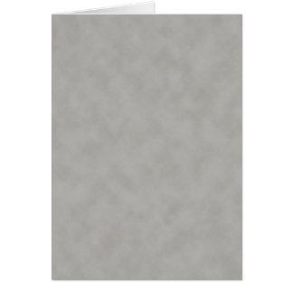 Escuro - fundo cinzento da textura do pergaminho cartão comemorativo