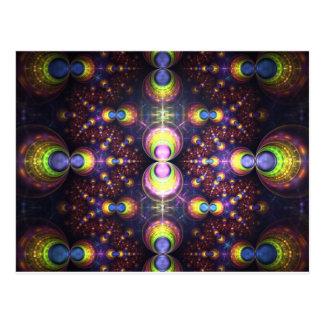 Esferas do espectro - cartão
