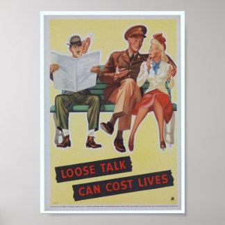 Esforço do poster/guerra da propaganda de WWII