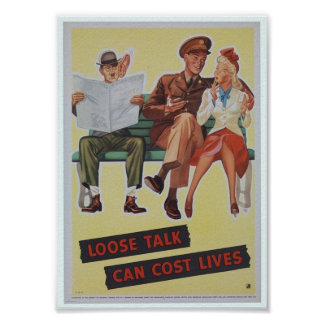 Esforço do poster/guerra da propaganda de WWII Poster