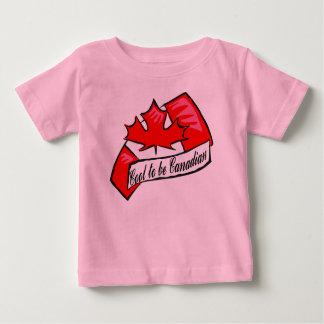 Esfrie para ser camisa canadense de T Tshirts