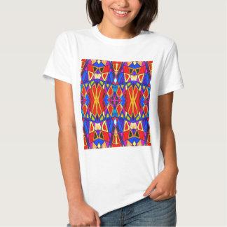 Esmalte brilhante abstrato camiseta