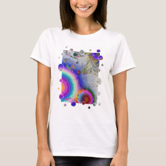 Esmalte das calças 2a do pintor quadro camiseta