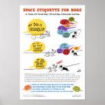 Espace a etiqueta para o poster dos cães - 22 x