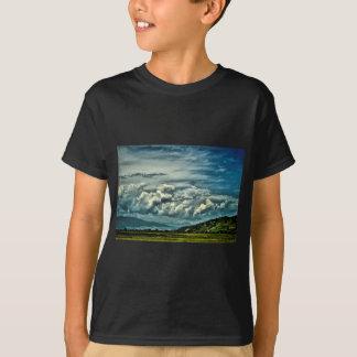 Espaço aberto largo camiseta