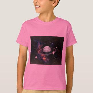 Espaço, anéis de Saturn & luas Camiseta