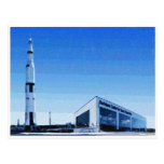 Espaço & centro de Rocket de Huntsville, Alabama Cartão Postal