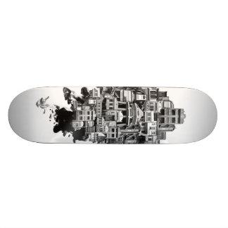 Espaço compartilhado: Loja-casas Shape De Skate 19,7cm