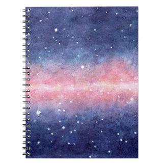 Espaço da aguarela cadernos espiral