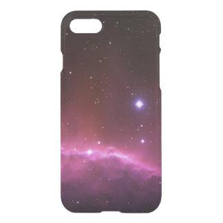 Espaço da foto da nebulosa da galáxia e hipster do capa iPhone 7