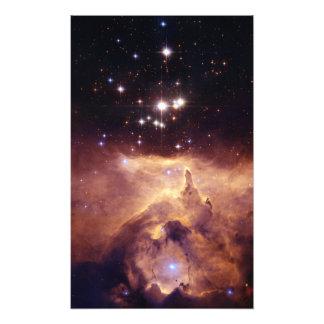 Espaço de Pismis 24 do conjunto de estrela Foto Artes