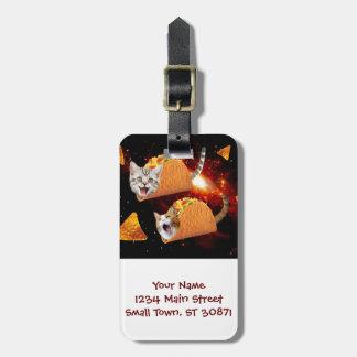 Espaço dos gatos do Taco Tag De Mala