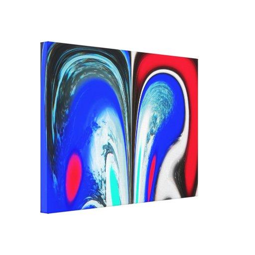 Espaço estrangeiro impressão em canvas