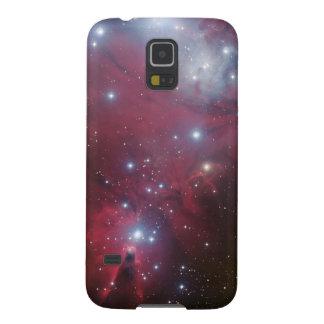 Espaço legal da natureza do geek do hipster da gal capa para galaxy s5