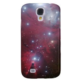 Espaço legal da natureza do geek do hipster da gal galaxy s4 case