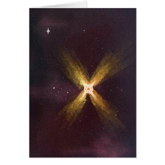 Espaço profundo 02 - cartão vazio