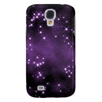 Espaço profundo - roxo escuro - estrelas galaxy s4 cases