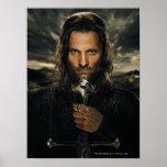 Espada de Aragorn para baixo Poster