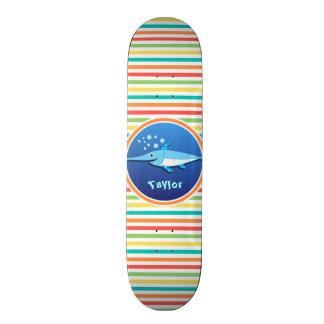 Espadarte; Listras brilhantes do arco-íris Skate