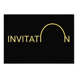 Espaguetes italianos personalizados do comensal da convite 8.89 x 12.7cm