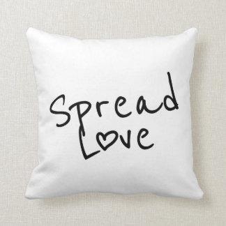 Espalhe o amor almofada