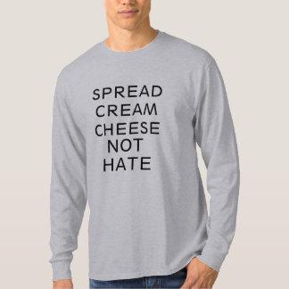 espalhe o design engraçado da camisa do ódio do