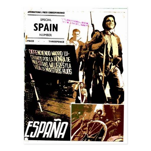 ESPANA - cartão Cartões Postais