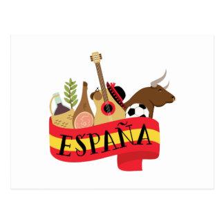 Espana Cartão Postal