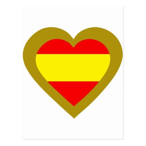 espana-heart-2. cartao postal