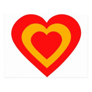 espana-heart cartoes postais