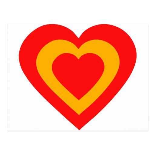 espana-heart. cartoes postais