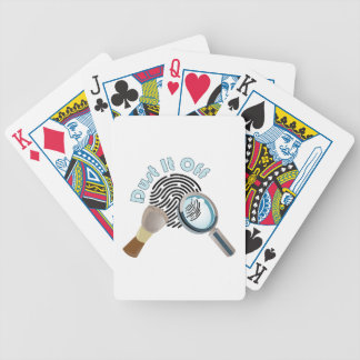 Espane-o fora baralho para pôquer