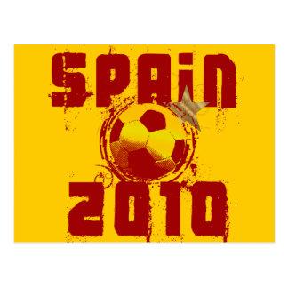 Espanha 2010 cartão postal