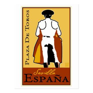 Espanha do viagem cartão postal