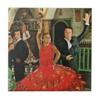 Espanha do vintage, dançarinos do Flamenco