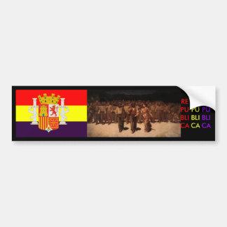 Espanha espanhola da república adesivo para carro