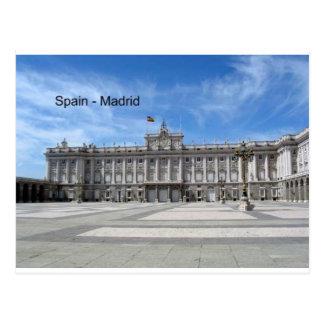 Espanha, Madrid Plaza de la Armería (St.K) Cartoes Postais