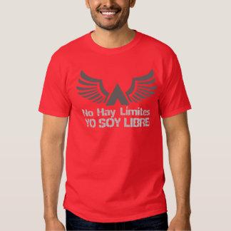 Espanhol de Libre da soja de Yo (eu estou livre) T-shirt
