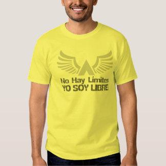 Espanhol de Libre da soja de Yo (eu estou livre) Tshirt