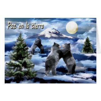 Espanhol do cartão de Natal 2012 de ABF