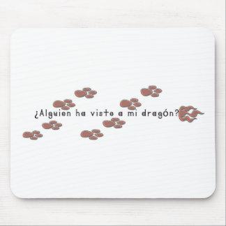 Espanhol-Dragão Mousepad