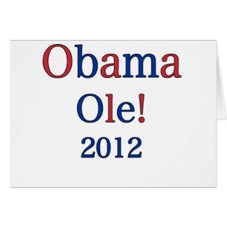 Espanhol Pro-Obama Cartoes
