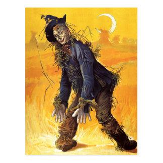 Espantalho de mágico de Oz do vintage Cartao Postal