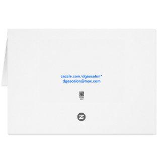 Espantalho de Waldorf Cartão Comemorativo